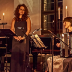 September 2015, Nürnberg: Kammermusikfestival (c) with Frances Pappas