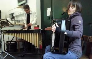 improvisation session at b-05 cultural centre