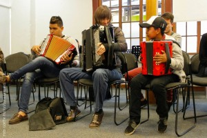 accordion academy in Bogotá